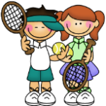 kids tennis boy-girl