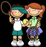 kids tennis boy-girl