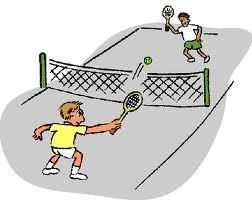 tennis net players