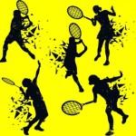 tennis_player_icons_splashing_silhouette_design_6834521