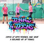 TV1003 - Tennis for Teens Social Tile4